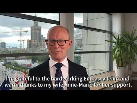 Ambassador Ole Egberg Mikkelsen Farewell video