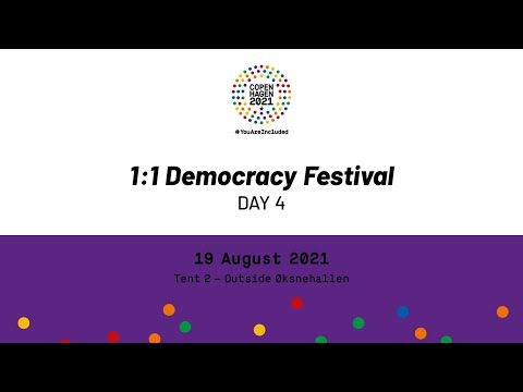 1:1 Democracy Day 4 - Tent 2