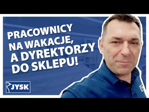 Pracownicy na wakacje, a dyrektorzy do sklepu!    JYSK Polska