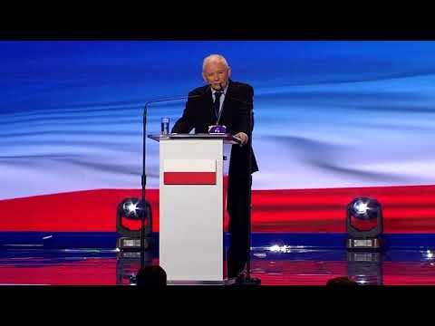 Jarosław Kaczyński - Wystąpienie Prezesa PiS podczas VI Kongresu Prawa i Sprawiedliwości