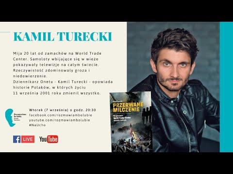 """Kamil Turecki """"Przerwane milczenie. Na gruzach World Trade Center. Polskie historie."""
