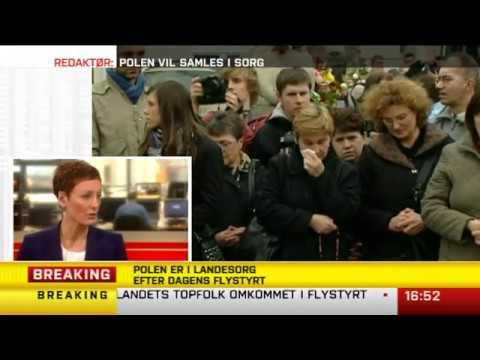 Smolensk-ulykken TV2 News 10. april 2010 - Jens Mørch, polennu.dk