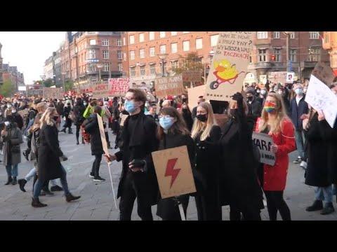Solidarity with Polish Women Strajk Kobiet Copenhagen 01 11 2020