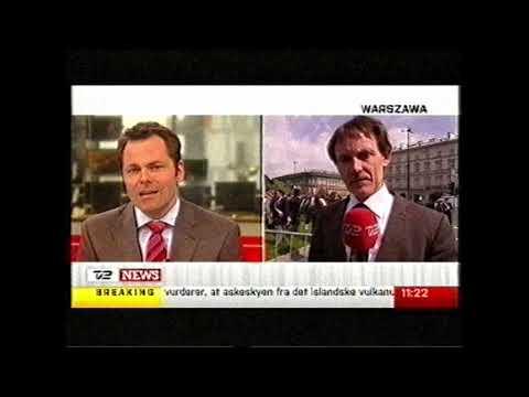 Smolensk minde højtidelighed TV2 News 18. april 2010 Jens Mørch