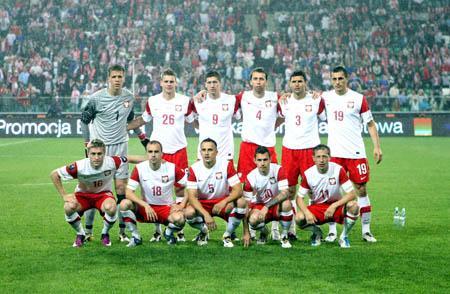 110109_Holdbillede_-_Det_polske_landshold_mod_Frankrig