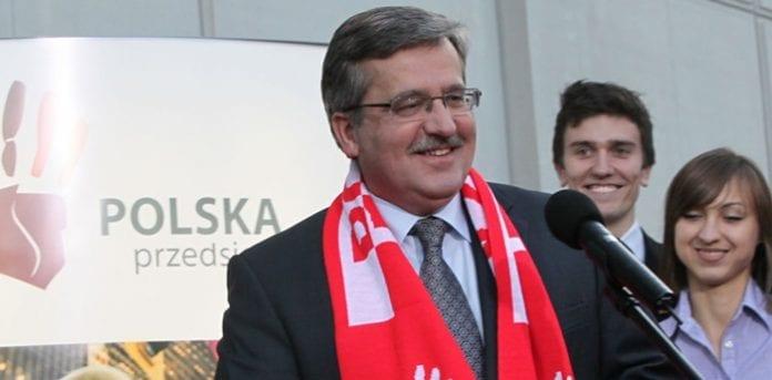 Bronislaw_Komorowski_årets_mand_i_Polen
