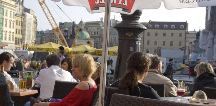 Cafegæster_i_Krakow