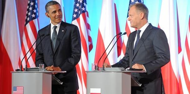 Den_amerikanske_præsident_Barack_Obama_sammen_med_Polens_statsminister_Donald_Tusk