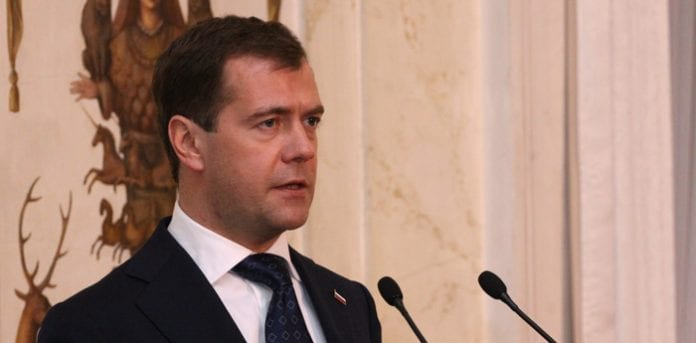 Den_russiske_præsident,_Dmitrij_Medvedev