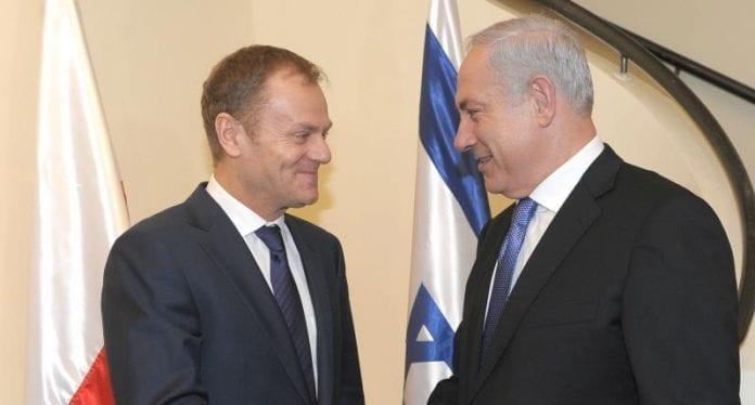 Donald_Tusk_Israel_Polen_polennu