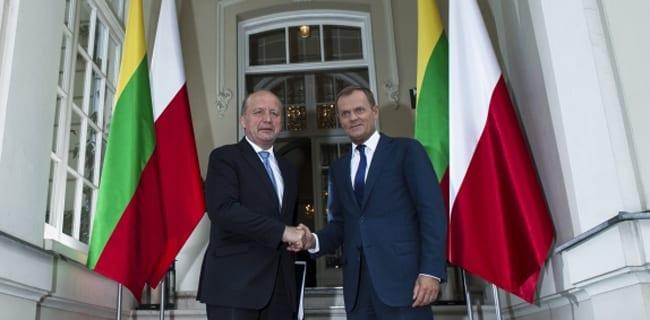 Donald_Tusk_Polen_Litauen_Andrius_Kubilius_polennu