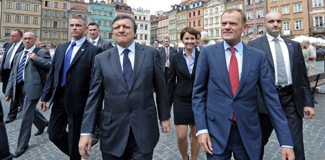 Donald_Tusk_og_Jose_Barosso_EU-ledere_i_Polen_Warszawa_gamle_bydel