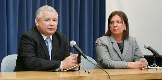 Elzbieta-Jakubiak-og-Jaroslaw-Kaczynski