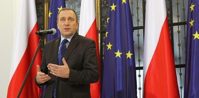 Formand_for_Sejmen,_Grzegorz_Schetyna_Borgernes_Platform_afslutter_sjette_samling