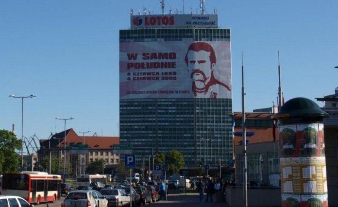 Gdansk_Polens_første_frie_valg_1989_i_Gdansk_med_Lech_Walesa_20_år_senere