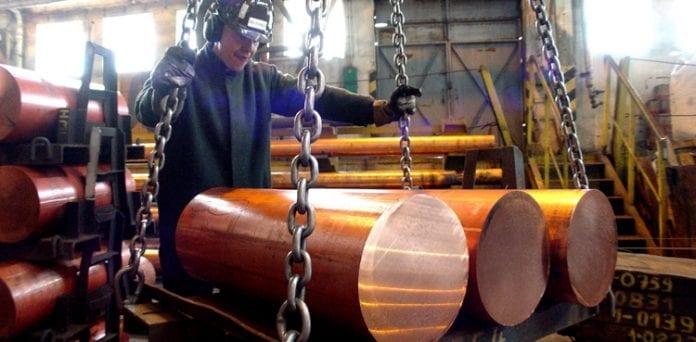 Kobberproduktion