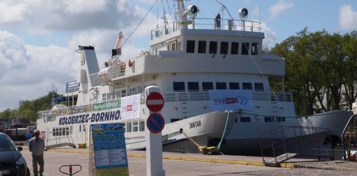 Kolobrzeg-Bornholm_Danmark_Polen_EM_færge_Martin_Bager_polennu