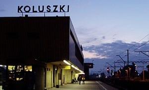 Koluszki_jernbanestation_i_Polen_PKP_polennu