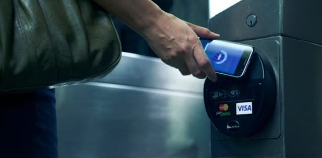 NFC-betalingssystem
