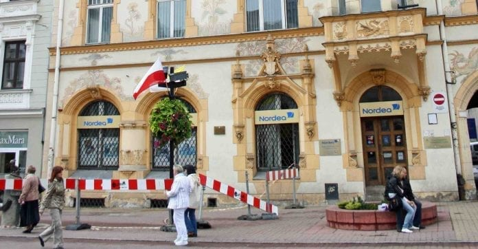 Nordea_lukker_filialer_i_Polen