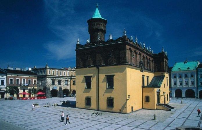 Polen-Tarnow-Rådhus