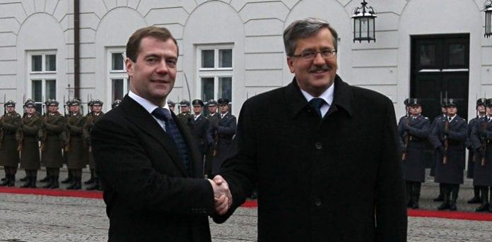 Polens_og_Ruslands_præsidenter_til_Katyn