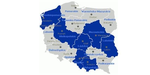 Polens_regioner