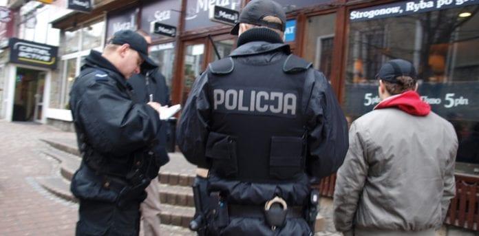 Politi_i_Polen