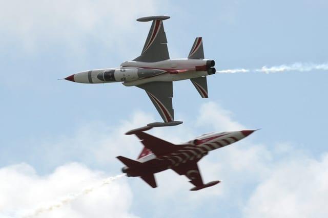 Polsk_militær_laver_fly_opvisning_i_Danmark