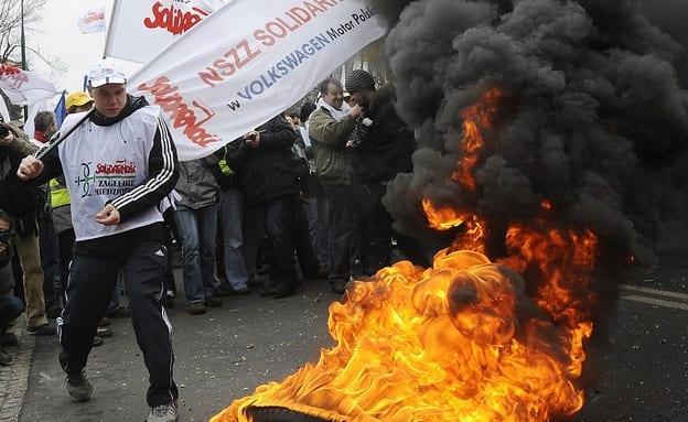 Polske_fagforeninger_har_tidligere_stået_bag_voldelige_optøjer