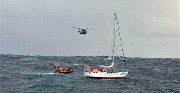 Polske_sejlere_bjærget_ved_Færøerne