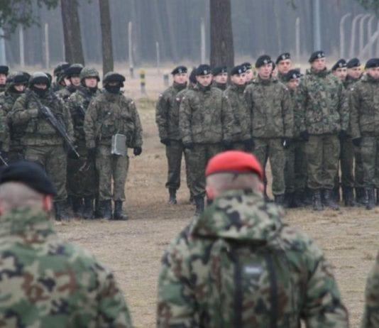 Polske_soldater_i_træning_ved_Zdjecie