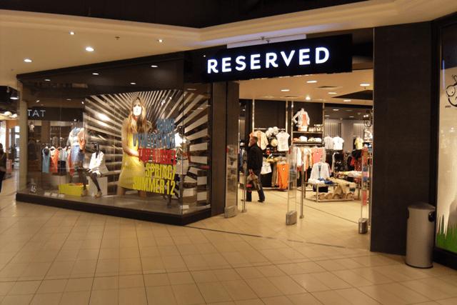 Reserved_butik_Polen_tøjkæde
