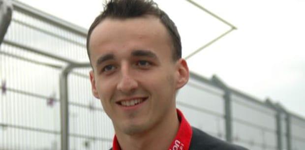 Robert_Kubica_til_første_løb_polennu
