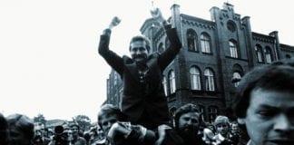 SOLIDARNOSC-f__rste-formand-var-Lech-Walesa