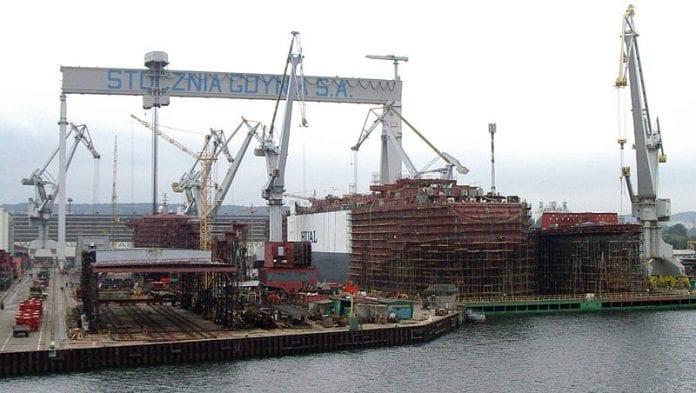 Stocznia_Gdynia_skibsværft