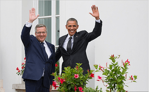 USA_spræsident_Obama_garanterer_sikkerhed_i_Polen