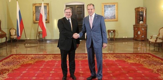 Udenrigsminister_for_Rusland_Sergey_Lavrov_og_Bronislaw_Komorowski