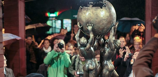 Wikipedia_sculpture_Poland_Slubice