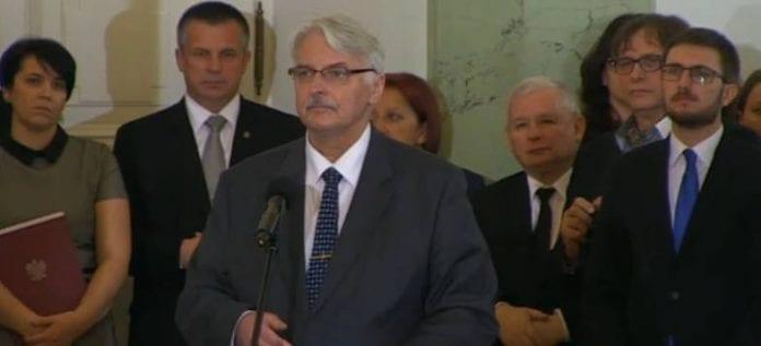 Witold_Waszczykowski_udenrigsminister
