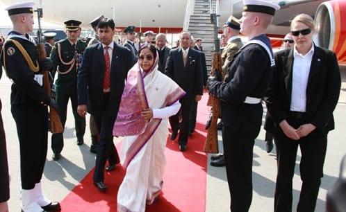 indiens_præsident_er_på_officielt_besøg_i_Polen
