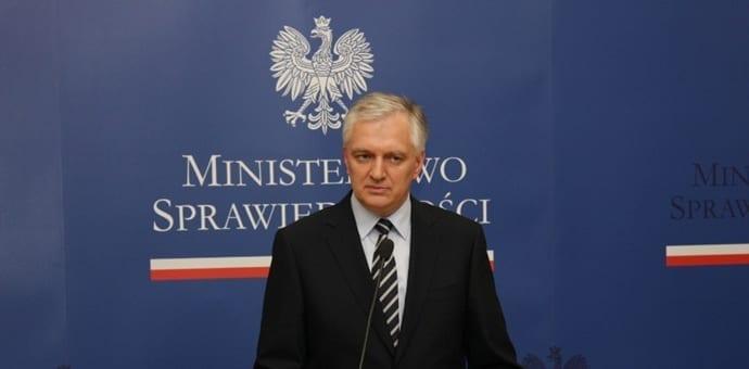justitsminister_Jaroslaw_Gowin_Polen_polennu