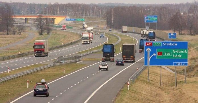 motorvej_i_Polen