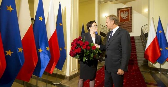 polen_statsminister_donald_tusk_ewa_kopacz_1
