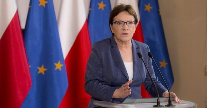 statsminister_i_Polen_Ewa_Kopacz