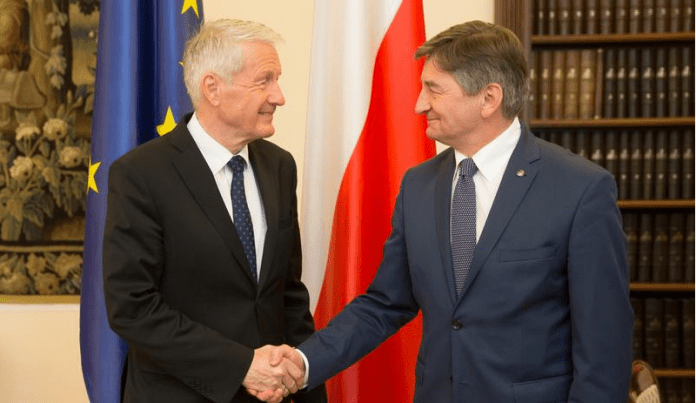 formand_for_europa_raadet_thorbjoern_jagland_besoeger_parlamentet_i_polen