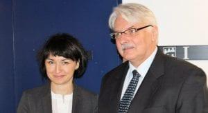 henryka_moscicka-dendys_polens_ambassadoer_udenrigsminister_jens_moerch_polennu