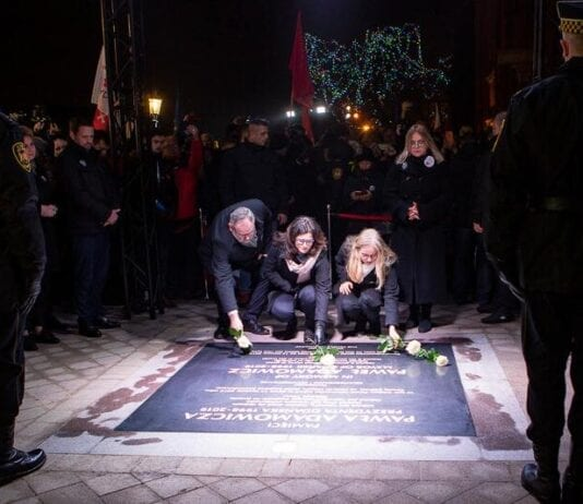 Mordet på Gdansk borgmester