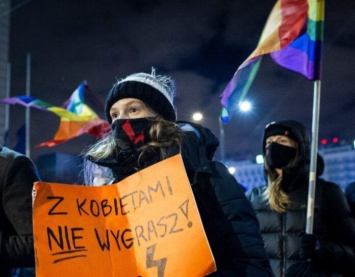 mange smittede i Polen