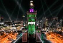 Warszawa nytårsaften 2020